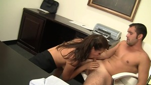 Rilynn Rae getting smashed very nicely in office