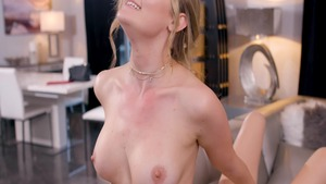 Cadence Lux together with blonde Addison Lee