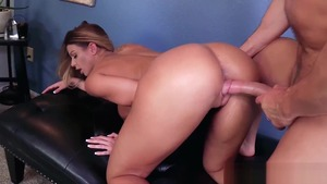 The best sex together with big boobs Brooklyn Chase & Laz Fyre
