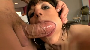 Brunette Franceska Jaimes enjoys greatly fucking in stockings